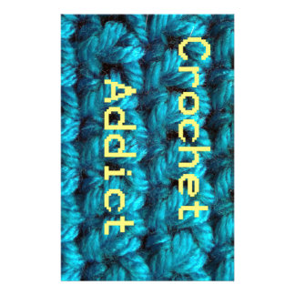 Crochet Addict Part2 Double Crochet Stationery