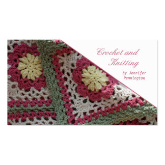 Crochet and Knitting customizable business card
