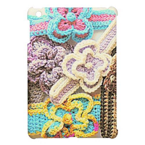 Crochet Bouquet Flowers iPad Mini