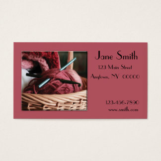 Crochet Business Card