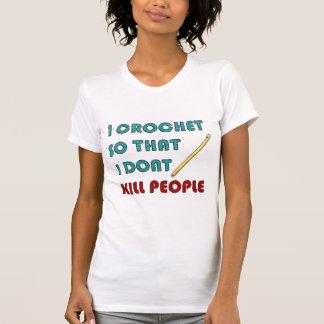 Crochet, camisetas ligero