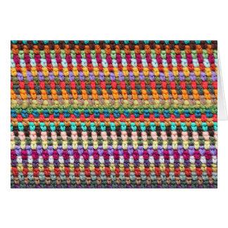 Crochet Card - Crochet Greeting Card