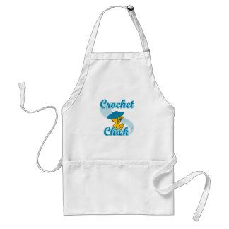 Crochet Chick #3 Adult Apron