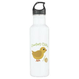 Crochet Chick Stainless Steel Water Bottle