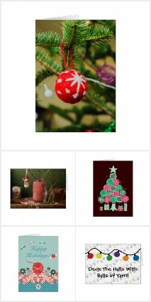 Crochet Christmas Cards