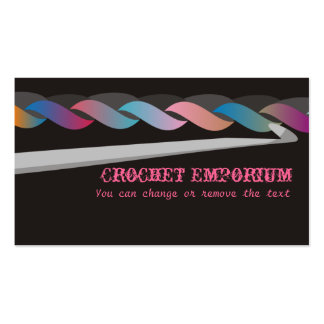 crochet crafting fashion toys business card, Cr... Business Card