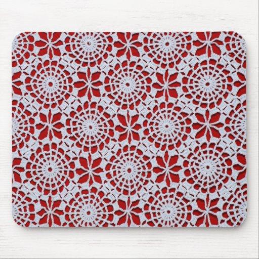 Crochet Design Mouse Pad