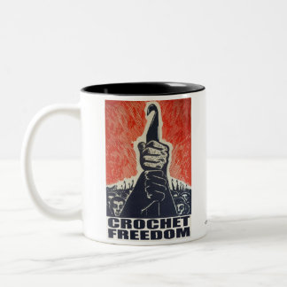 Crochet Freedom - mug