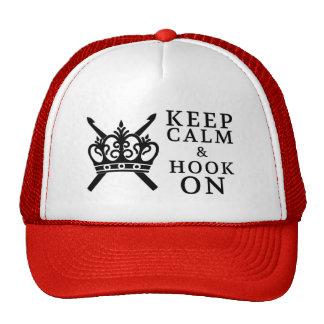 Crochet • Keep Calm Hook On Crafts Trucker Hat