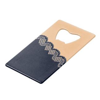 Crochet Lace Credit Card Bottle Opener