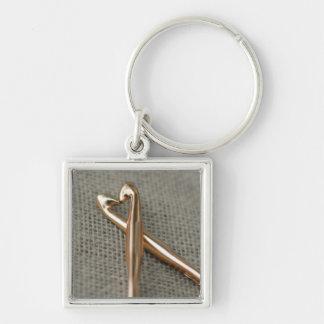 Crochet Lovers' Keychain
