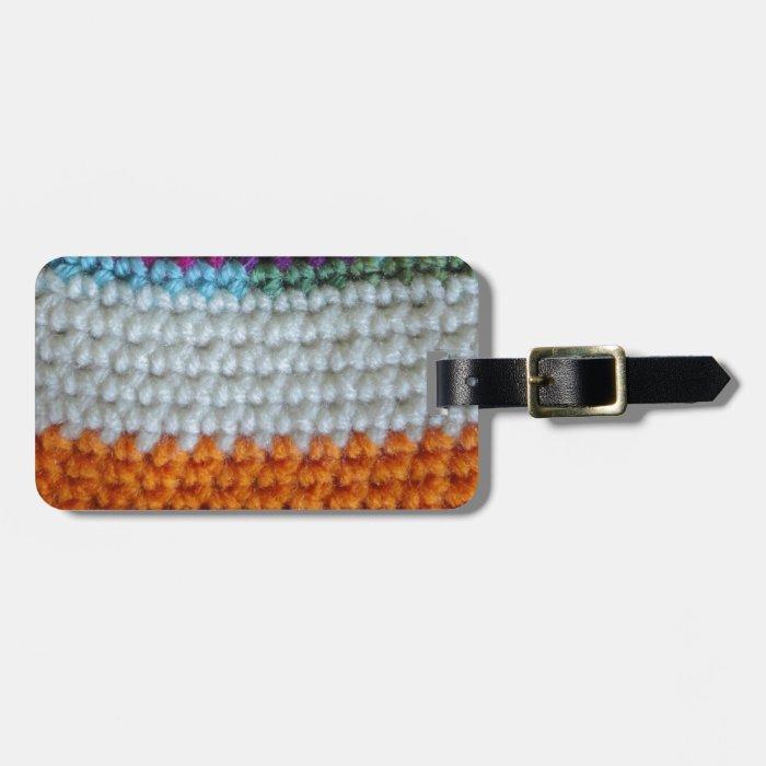 Crochet Luggage Tag
