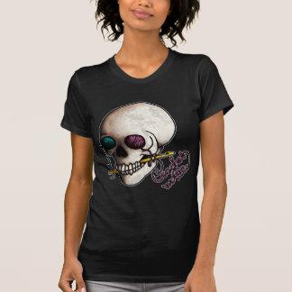 Crochet o muera camisetas oscuro