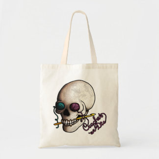Crochet o muera, empaquete bolsas lienzo
