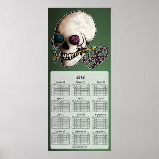Crochet or Die, 2012 wall calendar Poster