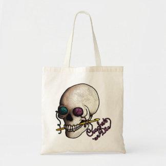 Crochet or Die, bag Budget Tote Bag