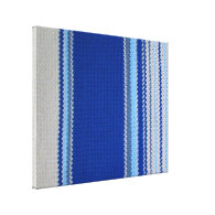 Crochet Pattern - Blue Stripes Canvas Prints