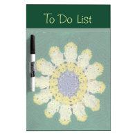 Crochet Pattern - Daisy Dry-Erase Board