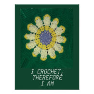 Crochet Pattern - Daisy Print
