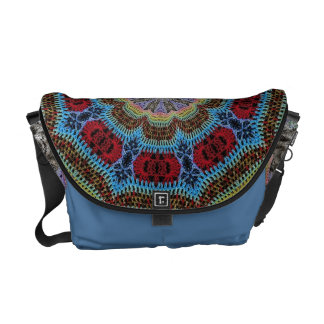 Crochet pattern Messenger Bag