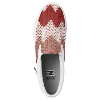 Crochet Pattern Printed Shoes