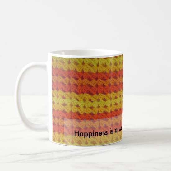 Crochet pattern - Warm Afghan Mug