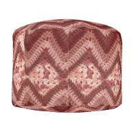 Crochet Pettern Round Pouf