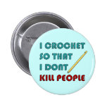 Crochet, Pins