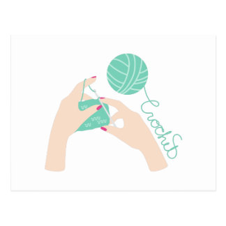 Crochet Postcard