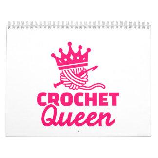 Crochet queen calendar