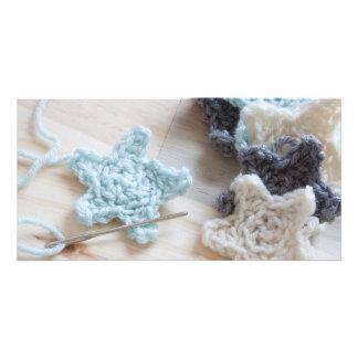 Crochet Stars Card