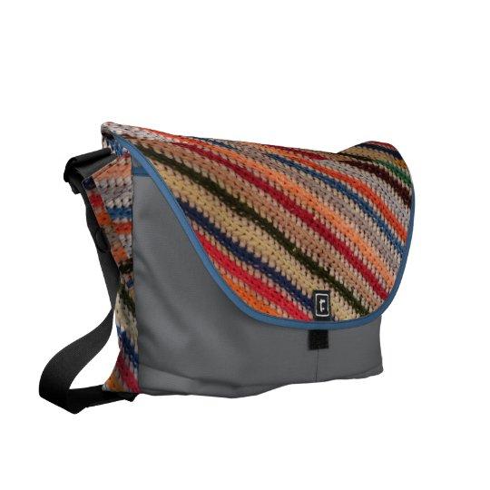Crochet Stripes Bag