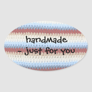Crochet Stripes Sticker
