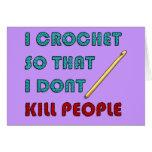 Crochet, Tarjeta