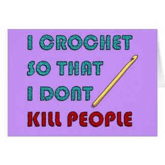 Crochet Tarjeta