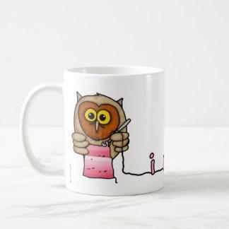 crochet taza básica blanca