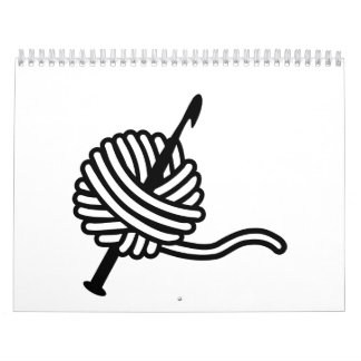 Crochet wool calendars