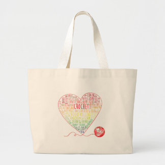 Crochet Words Tote (Large)