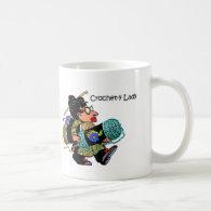 Crochet-y Lady Mug