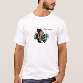 Crochet-y Lady T-Shirt