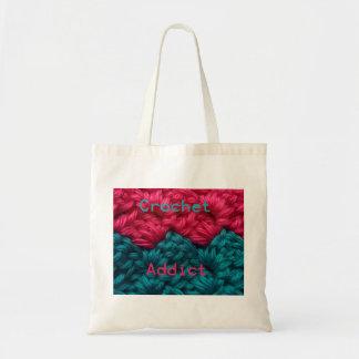 CrochetAddict part1 C2C design Canvas Bag