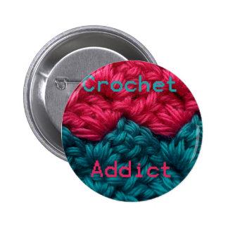 CrochetAddict part1 C2C design Pin