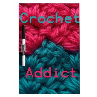 CrochetAddict part1 C2C design Dry-Erase Boards