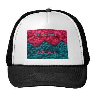 CrochetAddict part1 C2C design Mesh Hat