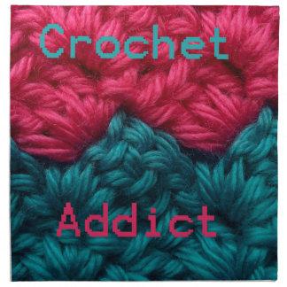 CrochetAddict part1 C2C design Cloth Napkin