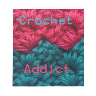 CrochetAddict part1 C2C design Memo Pad