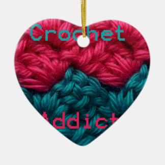 CrochetAddict part1 C2C design Christmas Ornament