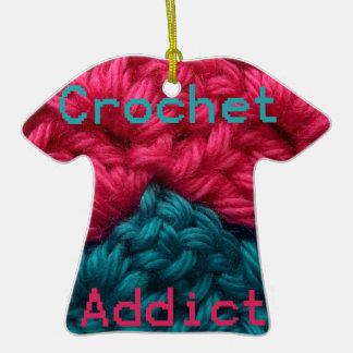 CrochetAddict part1 C2C design Christmas Ornaments