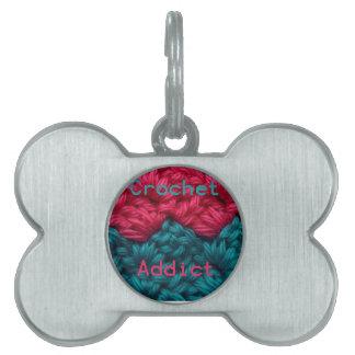 CrochetAddict part1 C2C design Pet Tags