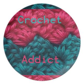 CrochetAddict part1 C2C design Party Plate